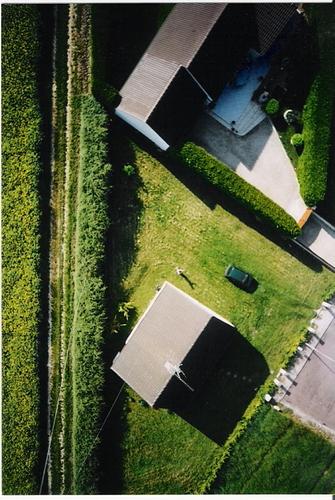 photo aérienne par ballon solaire